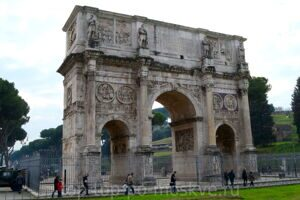 Triumphal Arch of Constantine  Arco di Costantino Триумфальная арка Константина